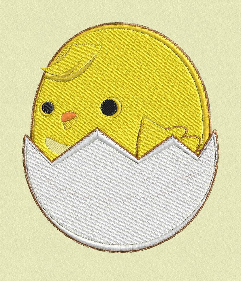 Cute Chick Egg